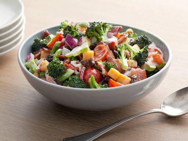 Broccoli Tomato Salad
