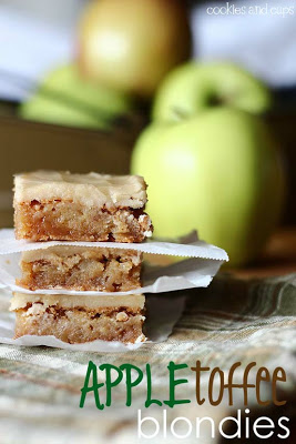 appletoffeeblondies