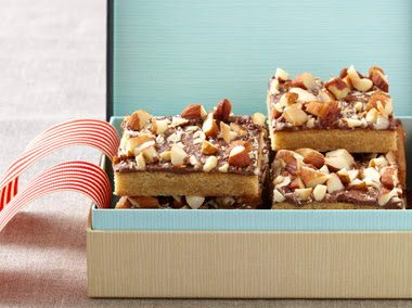 TOFFEE BARS (Adapted from Epicurious)