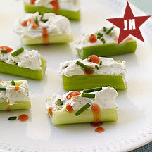 BUFFALO STUFFED CELERY (Adapted from Weight Watchers)