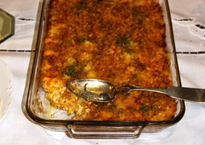HASHBROWN POTATO CASSEROLE (Adapted from cooks.com)