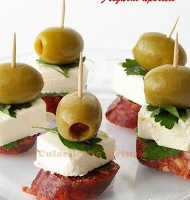 ANTIPASTO OR CAPRESE ON A STICK