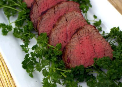 WHOLE GRILLED BEEF TENDERLOIN  (Tragaer)