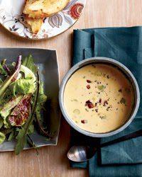 BEER CHEDDAR SOUP (Adapted from Food and Wine)
