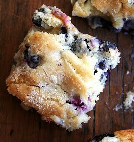 BLUEBERRY BREAKFAST CAKE (Adapted from Alexandra Cooks)