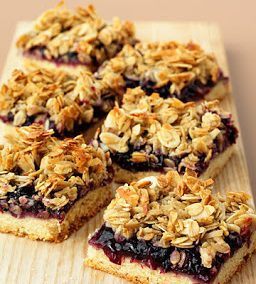 PICNIC BLUEBERRY BARS