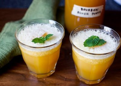 BOURBON SLUSH PUNCH (Adapted from Smitten Kitchen)