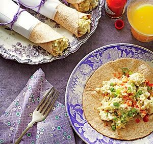 TEX-MEX BREAKFAST TACOS (Adapted from MyRecipes)