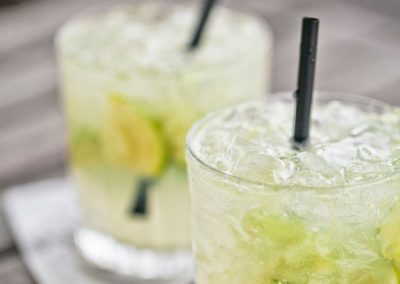 CAIPIROSKA (Adapted from Bon Appetit)