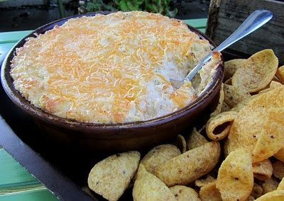 CHICKEN ENCHILADA DIP (Adapted from My Plate blogspot)