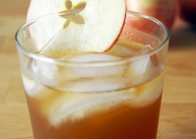 GINGER APPLE BOURBON SIPS