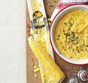 CREAMED CORN (Adapted from Southern Living)
