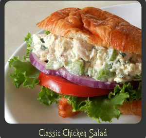 CLASSIC CHICKEN SALAD (Adapted from divadicucina)