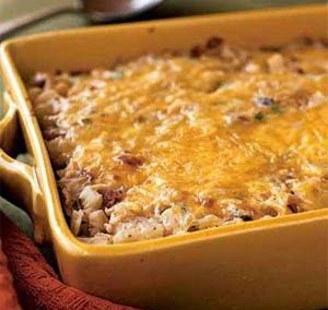 HASH BROWN CASSEROLE (Adapted from MyRecipes.com)