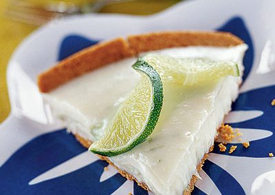 WHITE CHOCOLATE KEY LIME PIE (Adapted from Coastal Living)