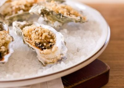 OYSTERS BIENVILLE (Adapted from epicurious)