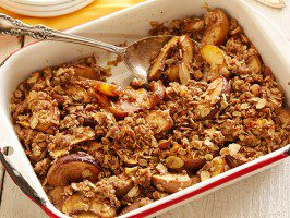 PEACH CRUMBLE (Adapted from Michael Symon)