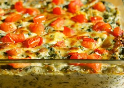 SPICY SPINACH ARTICHOKE DIP (Adapted from Tabasco)