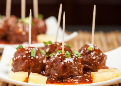 HAWAIIAN LUAU MEATBALLS