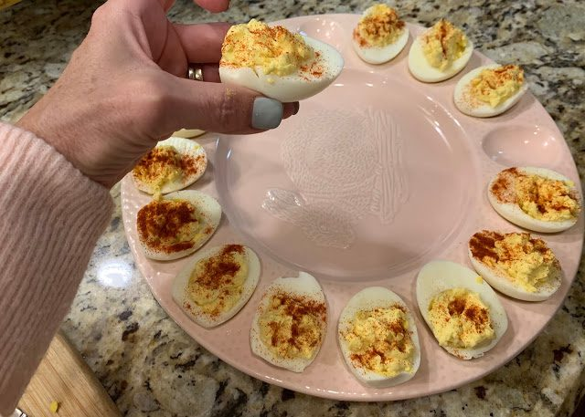 MY DEVILED EGGS