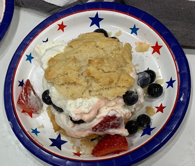 BEST STRAWBERRY BLUEBERRY SHORTCAKE EVER! (Adapted from Southern Living)
