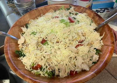 ITALIAN CHOPPED SALAD  (Adapted from Honey and Brie)