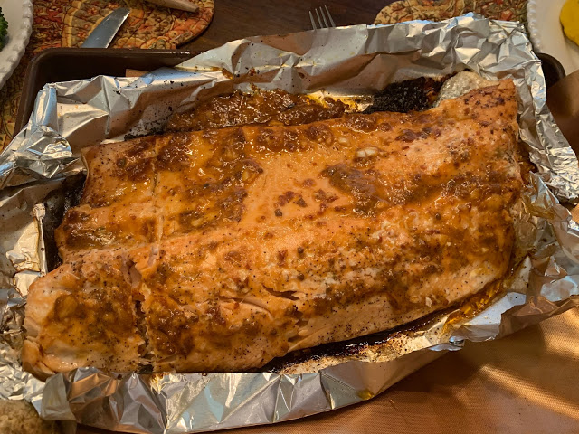 Cilantro Lime Salmon  (Adapted from Closet Cooking)
