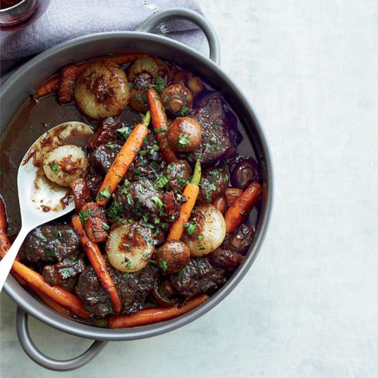Beef Stew in Red Wine Sauce