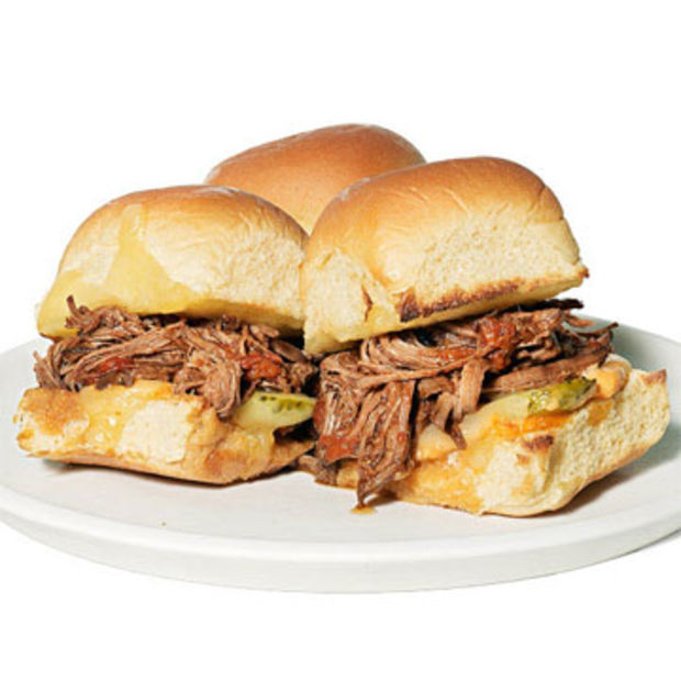 Beef Brisket Sliders