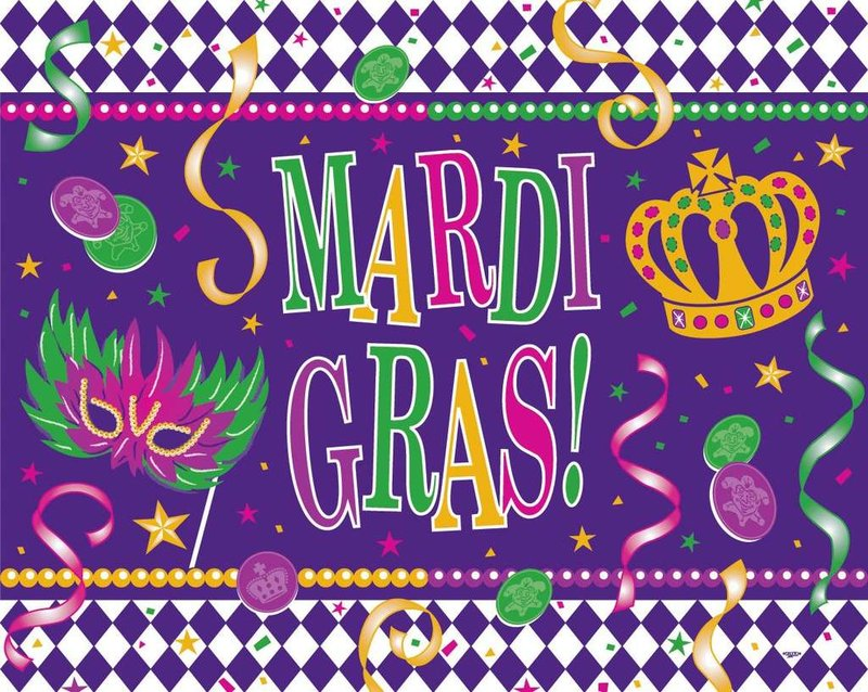 IT'S MARDI GRAS TIME!!!