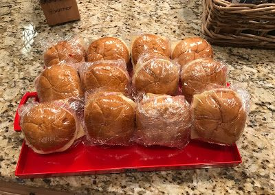 MINI-MUFFALETTAS (This recipe is adapted from Southern Living.)