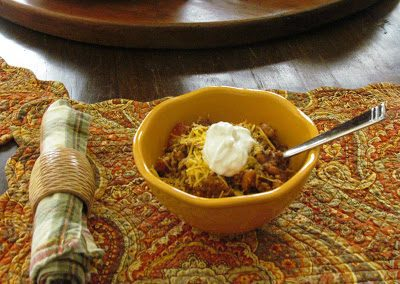 CHILI FOR A CROWD (thanks to Silver Palate)