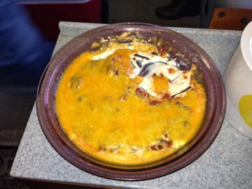 QUICKEST MEXICAN DIP (ever!)