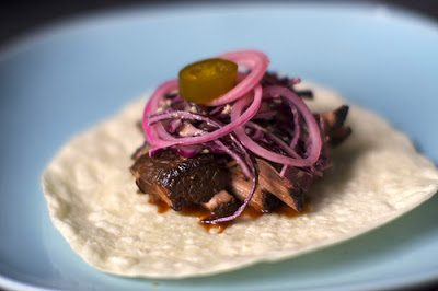 Southwestern Pulled Brisket (Adapted from The Food Network, and Smitten Kitchen)