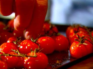 OVEN ROASTED TOMATOES (Adapted from Ina Garten)