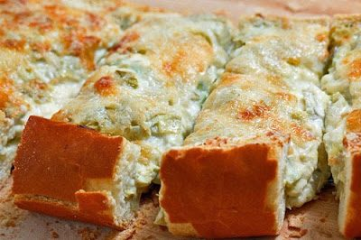 ARTICHOKE BREAD (Adapted from Closet Cooking)
