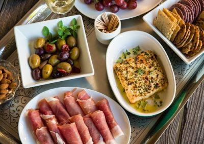 MEDITERRANEAN APPETIZER SPREAD (Adapted from afoodcentriclife)