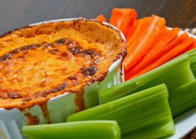 BUFFALO WING DIP (Adapted from Closet Cooking)