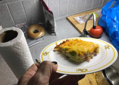 HEALTHY DENVER OMELET EGG BAKE FOR A CROWD  (Adapted from fitfoodiefinds)