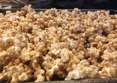 SALTED BUTTERSCOTCH PEANUT POPCORN (Adapted from whatkatieate)
