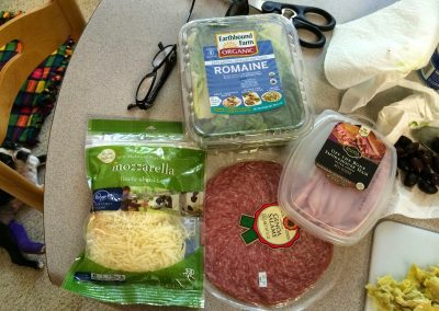 ANTIPASTO WRAPS (Adapted from Pampered Chef)