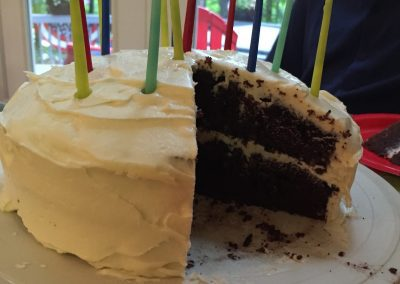BLACK AND WHITE CAKE (Food Network)