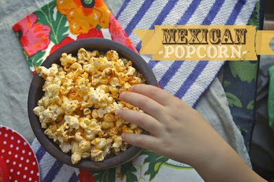 MEXICAN POPCORN (recipe adapted from Jamie Oliver)