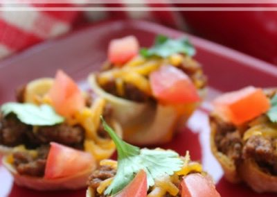MINI TACO BOWLS (Adapted from The Today Show)