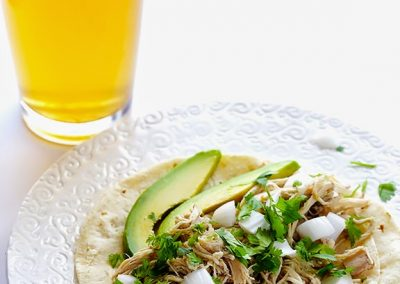 SALSA VERDE CHICKEN TACOS (Adapted from Gimmesomeoven)