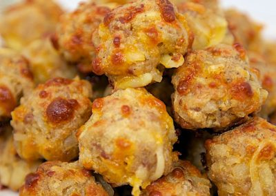 SAUSAGE HASHBROWN BALLS (Adapted from plain chicken)