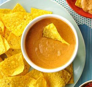 CHAMPIONSHIP BEAN DIP (Adapted from Taste of Home)