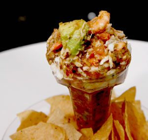 CAMPECHANA (or Mexican Seafood Cocktail) (Adapted from Saveur)