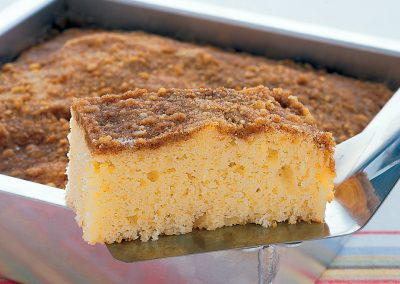 CINNAMON COFFEE CAKE (Adapted from marthastewart)