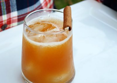 MANZARITA (Adapted from Bourbon and Boots)